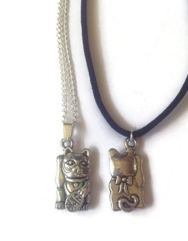 Lucky Cat Choker/Necklace
