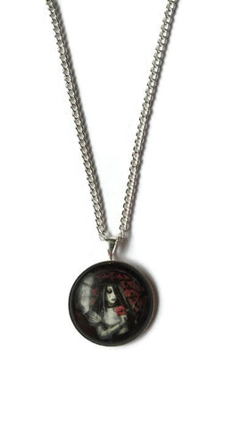 Gothic bride necklace