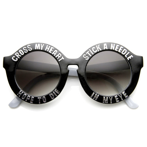 Cross my heart glasses