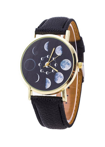 Moon phase watch (2 colours)