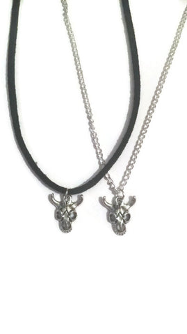 Baby skull choker/necklace