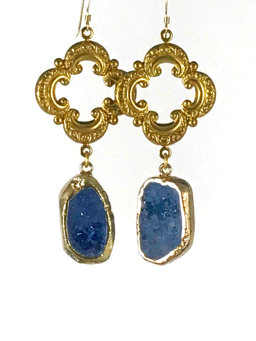 Rock Crystal Earrings *SALE*