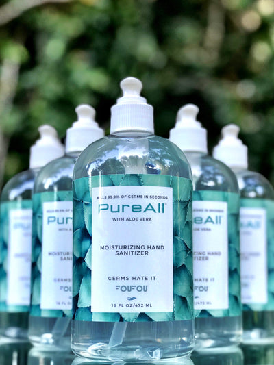 PureAll™ Moisturizing Hand Sanitizer with Aloe Vera 16 FL OZ