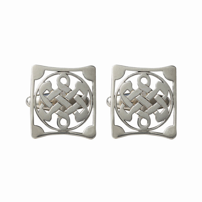 Square Love Knot Cufflinks