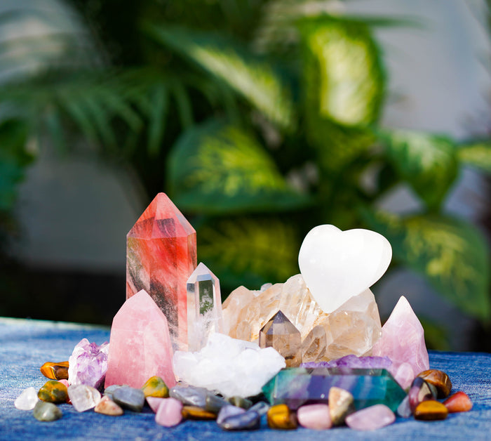 Energy, Crystals and Essential Oils Group Workshop