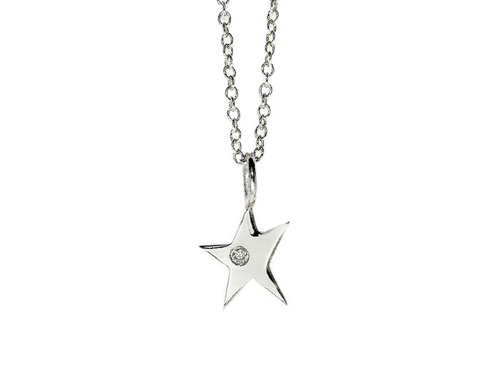 Diamond Magic Star Necklace