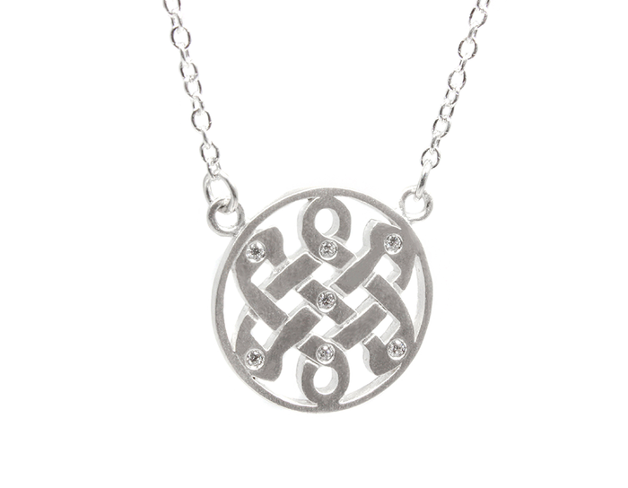 Diamond Celtic Love Knot
