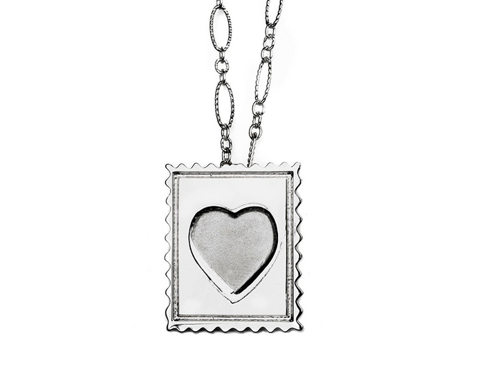 Love Stamp Necklace