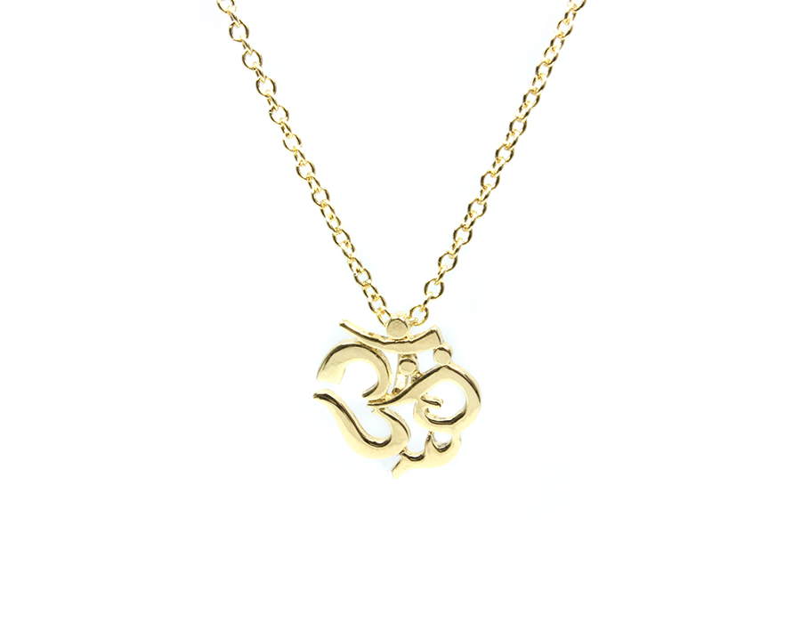 Petite Om Symbol Necklace Jewelry By Sloane