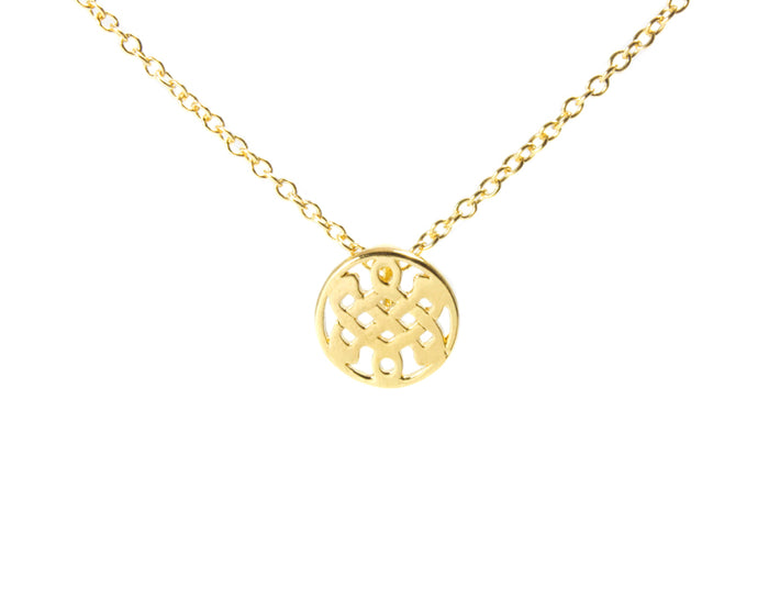 14KT Gold Plated Mini Celtic Love Knot