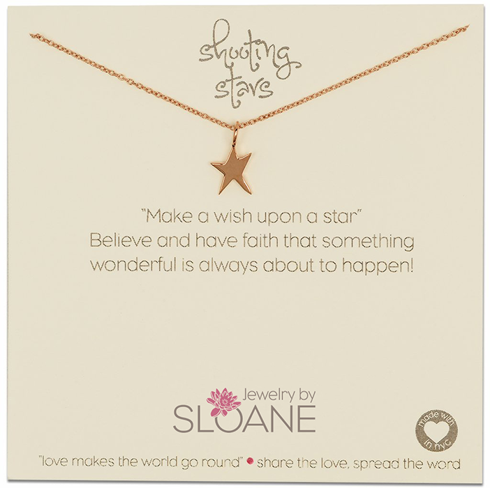 Gold Plated Small Star Necklace