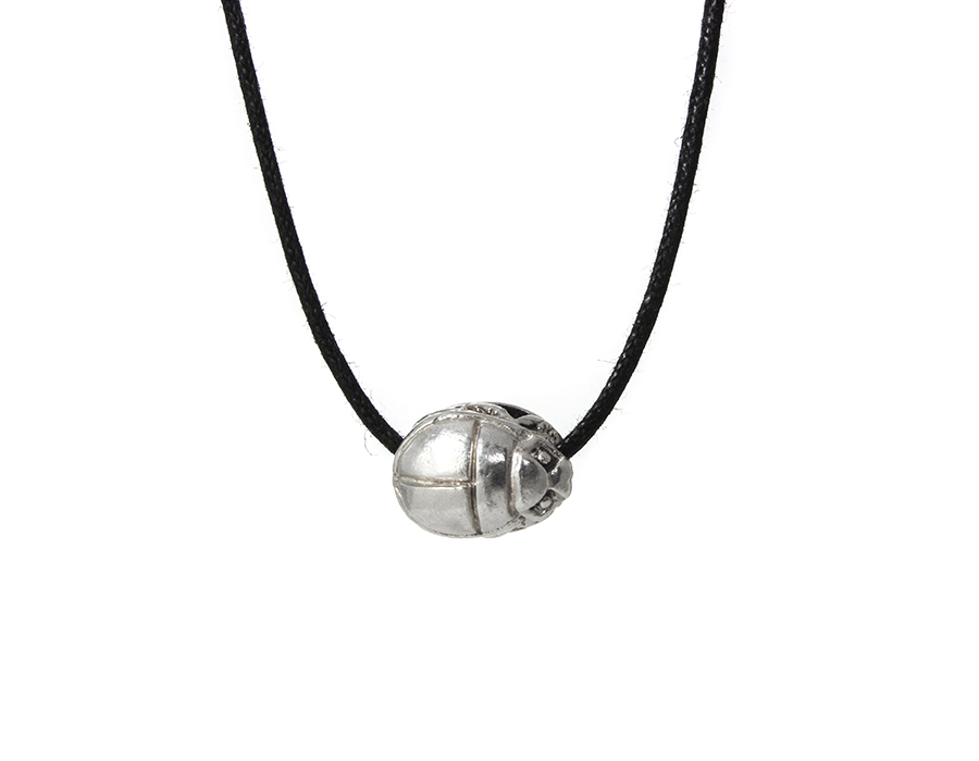 Egyptian scarab necklace jewelry by sloane egyptian scarab beetle amulet necklace aloadofball Choice Image