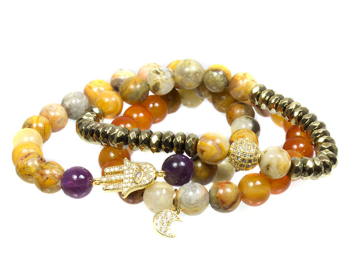 My Intuition Bracelet Set ~ Third Eye Chakra