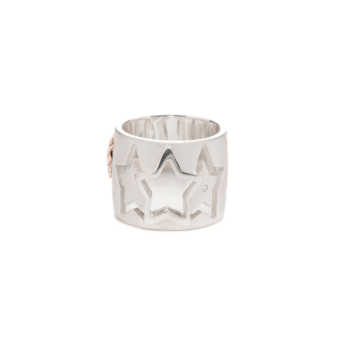 Diamond Wish Upon a Star Band Ring