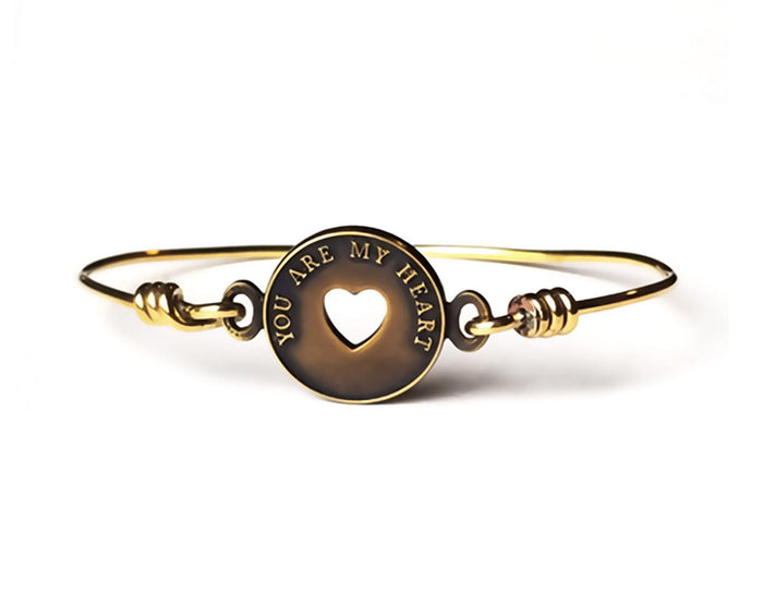 You are My Heart Token of Love Bracelet