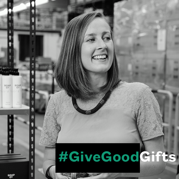#GiveGoodGifts Meets...Camilla Marcus-Dew, founder of The Soap Co.