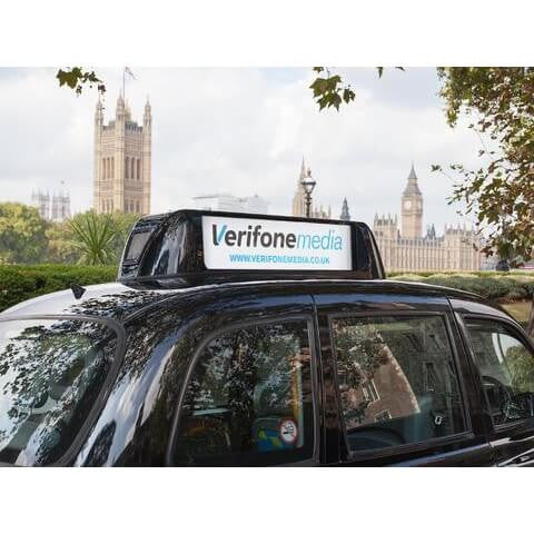 Verifone Media and The Soap Co.'s Black Cab Campaign