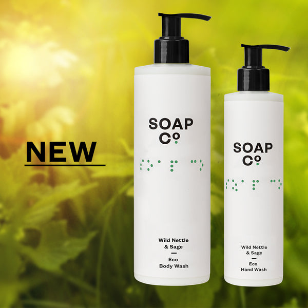 10% off NEW Wild Nettle & Sage body wash & hand wash