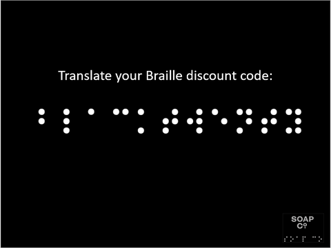 Braille Discount Code