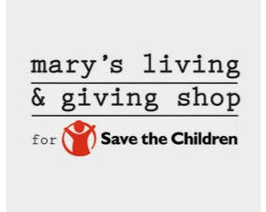 Mary's Living and Giving for Save the Children