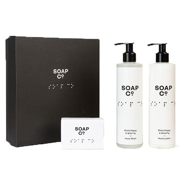 Gift Box Trio with Bar Soap