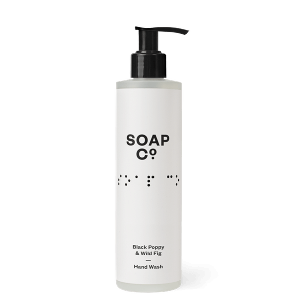 Black Poppy & Wild Fig Hand Wash