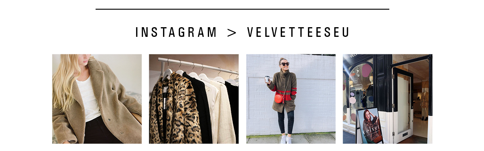 Velvet by Graham & Spencer Instagram