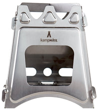 Load image into Gallery viewer, kampMATE WoodFlame Stainless Steel Stove