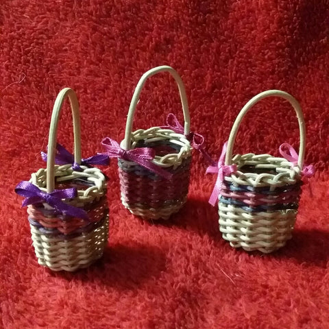 Miniature Christmas Tree Basket Workshop