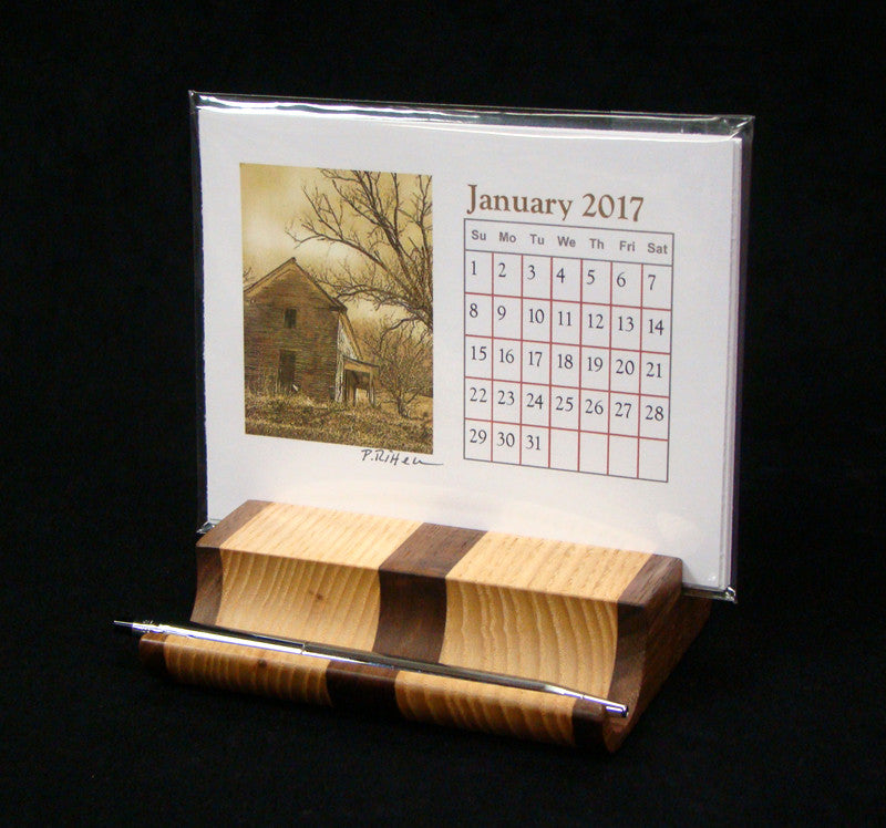 Calendar Desk Set by Gary Cooper