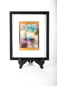 "Framed ""Indigo Shihori"" by Cindy Houston"