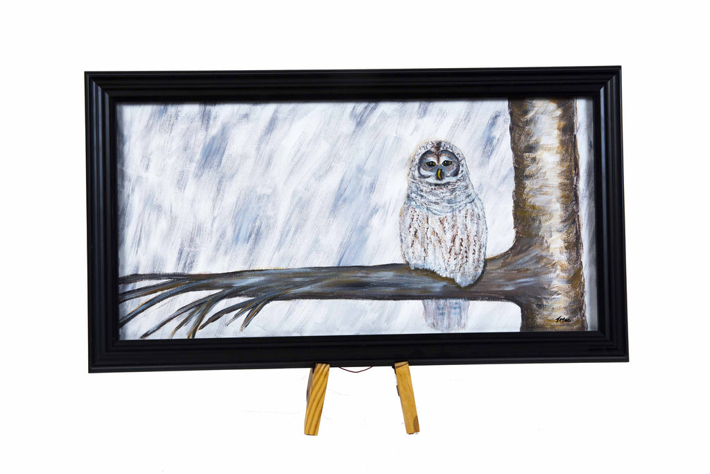 Snow Owl by Teresa McCarthy