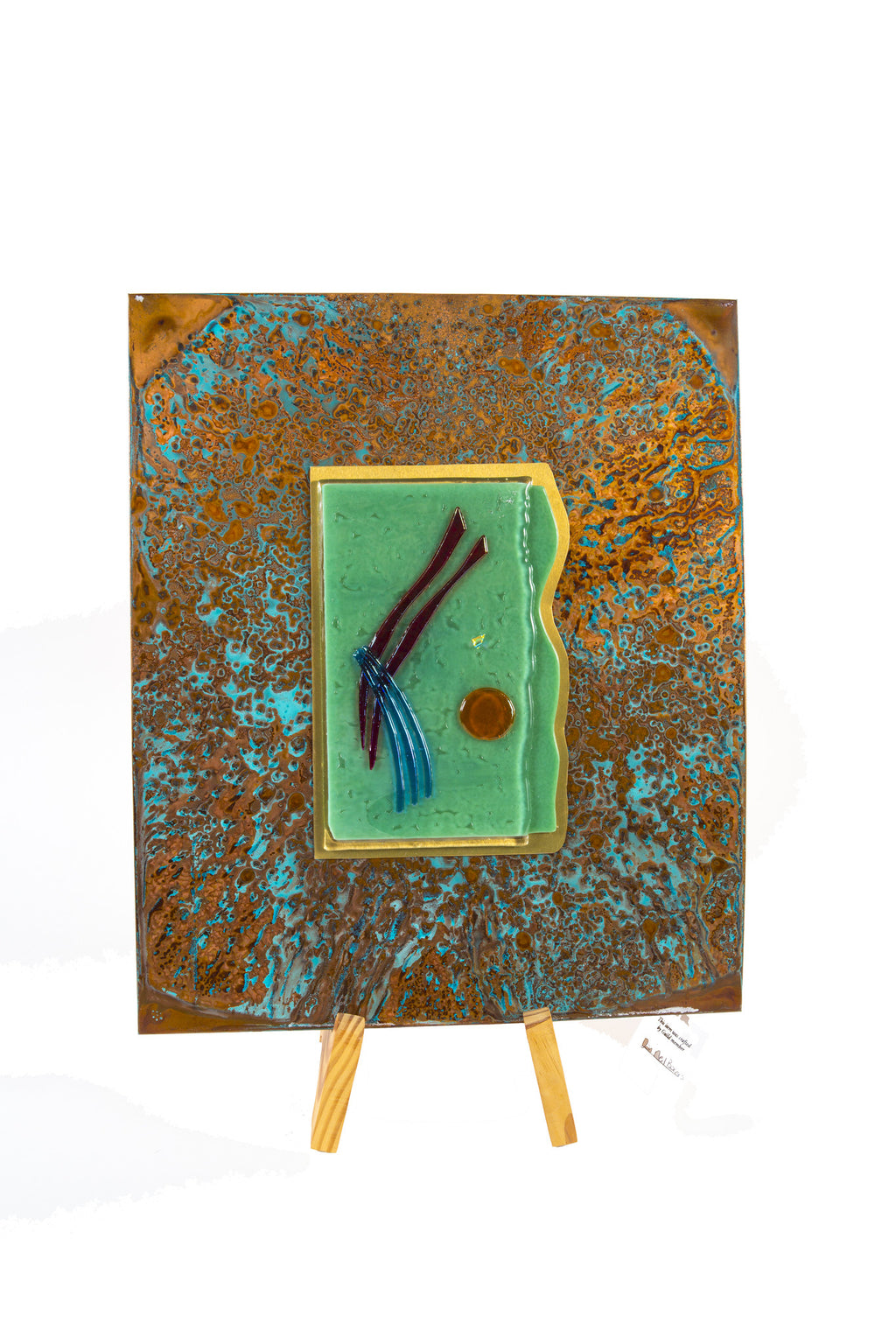 Copper & Glass 15X19 by Dan Neil Barnes