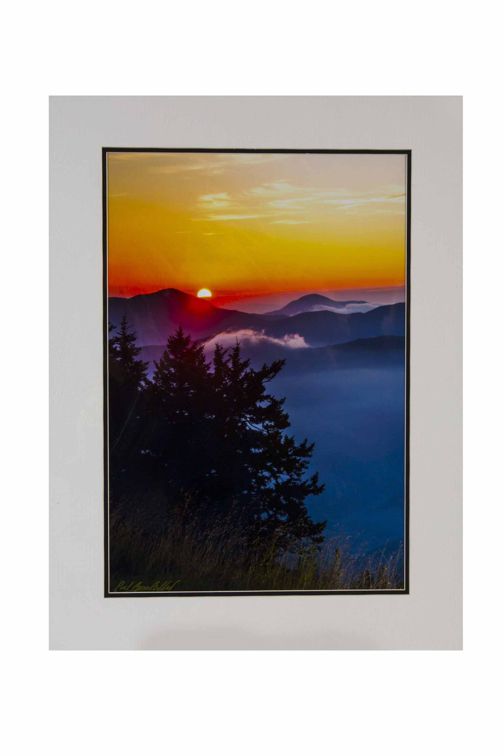 """Blue Ridge Sunrise #2"" by Roger Ballard"