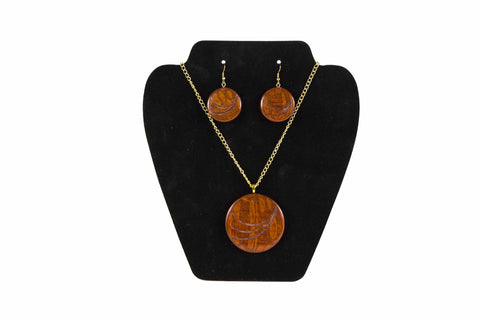 Wooden Jewelry Set by David Russell
