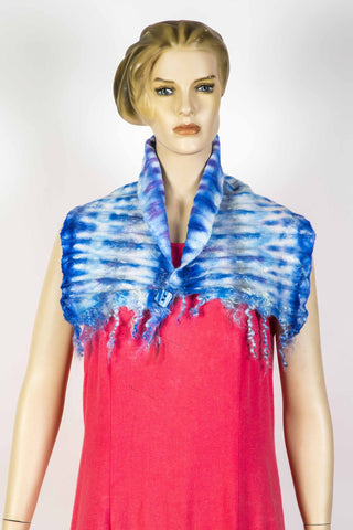 Shibori Neck Warmer