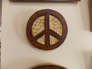 Peace Symbol Wall Hangings by Steve Heartsill