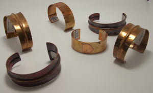 Bronze Bracelets by Gerald Price
