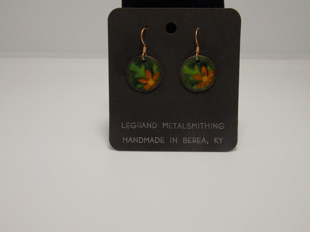 Ambrosia & Flower Earrings by Gerald Price