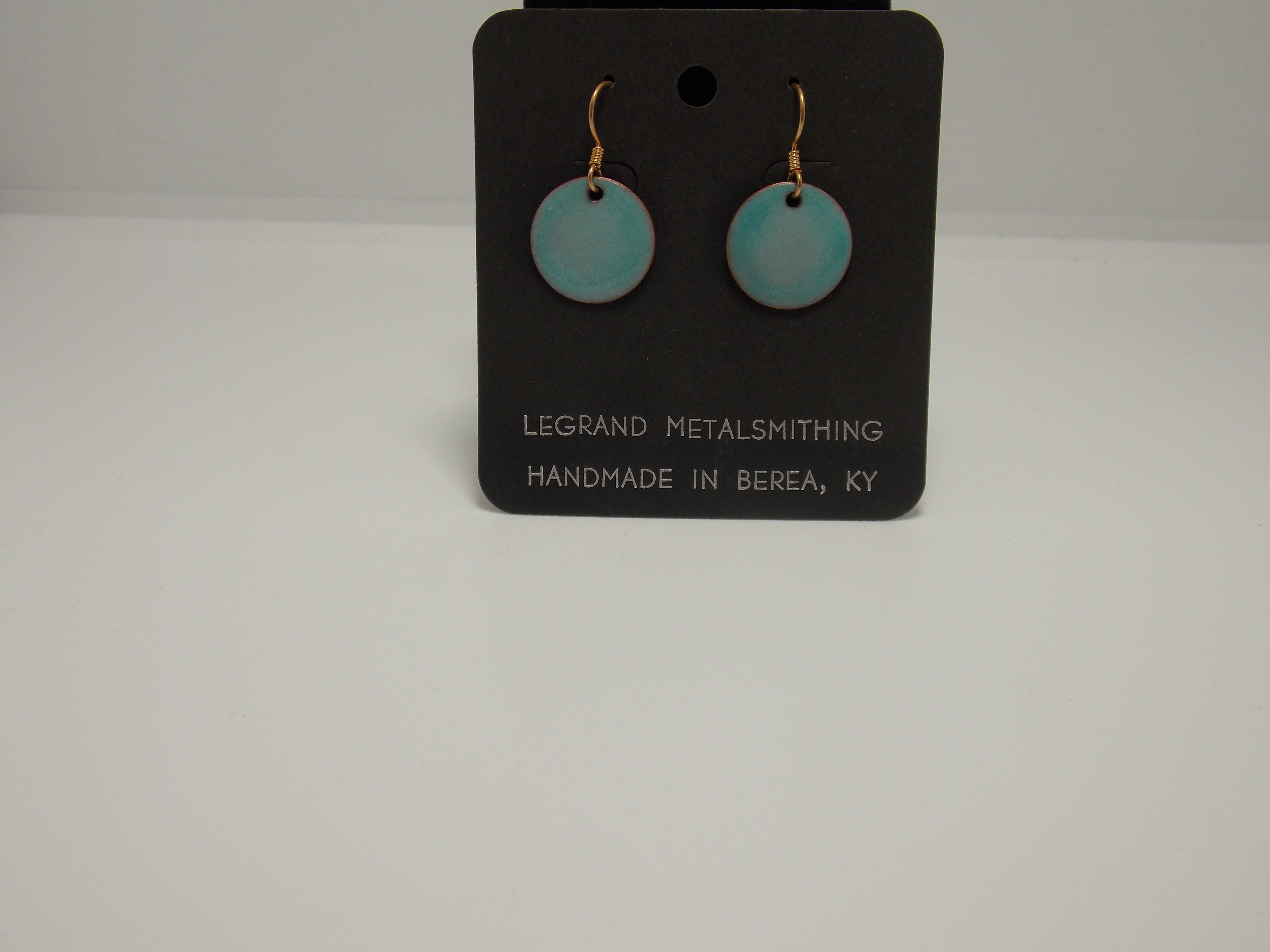 Enamel Earrings by Gerald Price