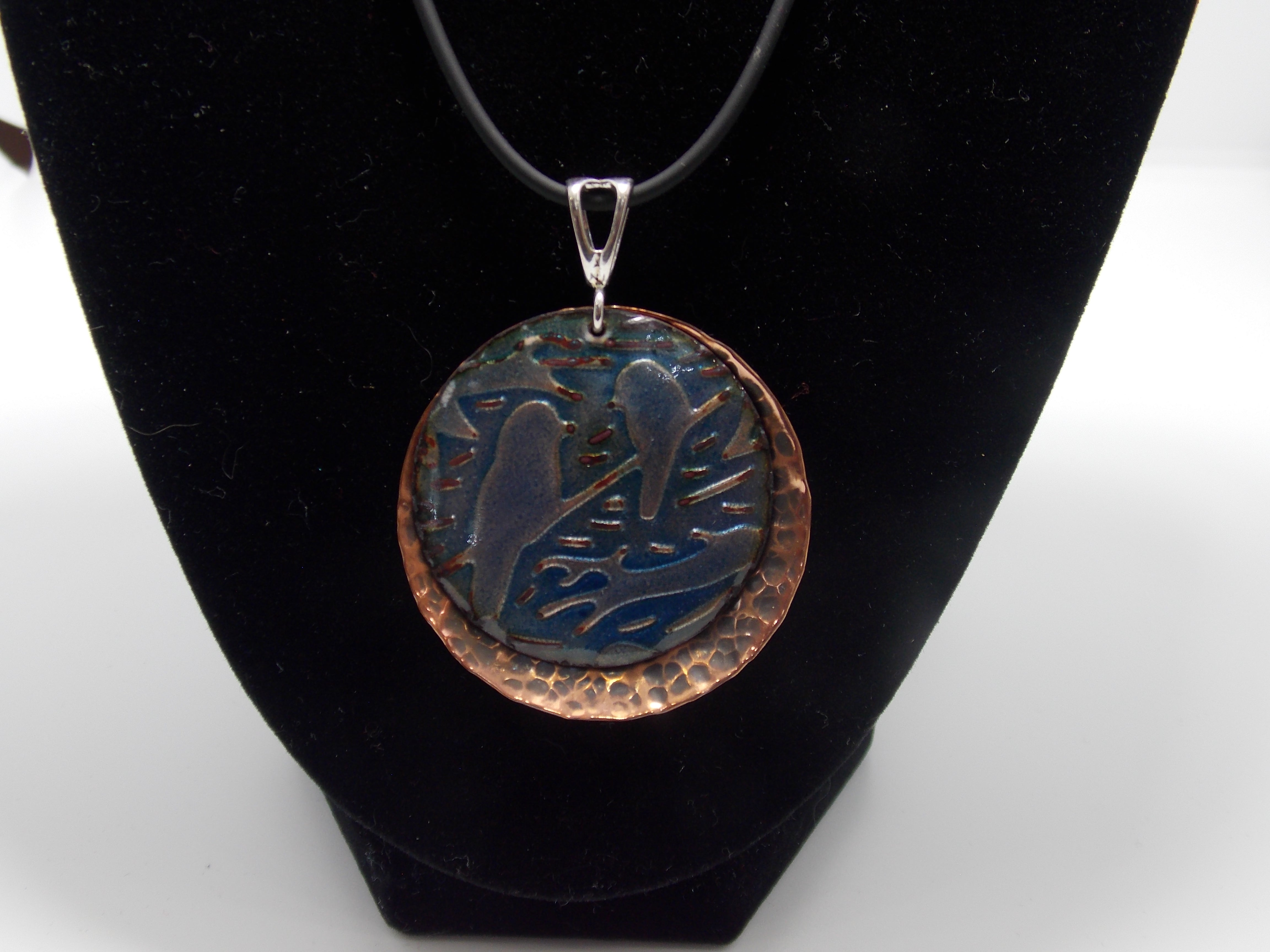 Blue Birds Necklace by Bob Mattingly