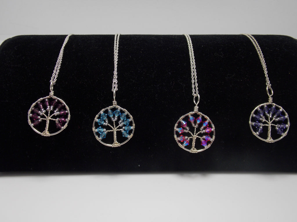 Tree of Life Necklaces (small) by JoAnna Dickey