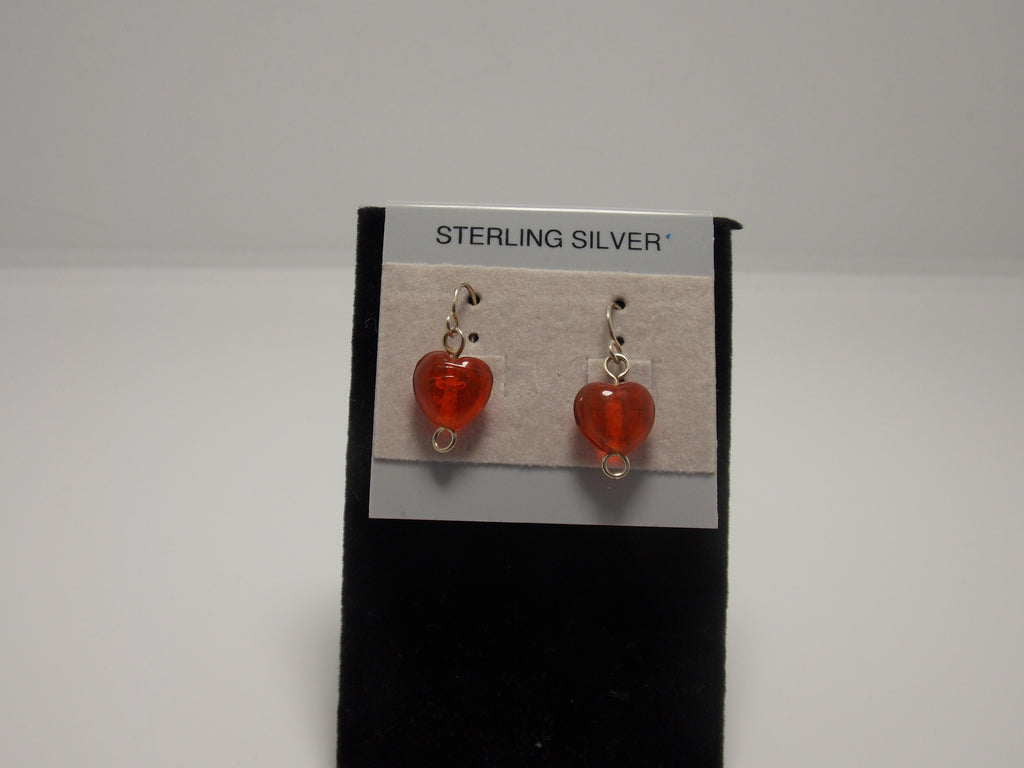 Sterling Silver and Carnelian Earrings by JoAnna Dickey