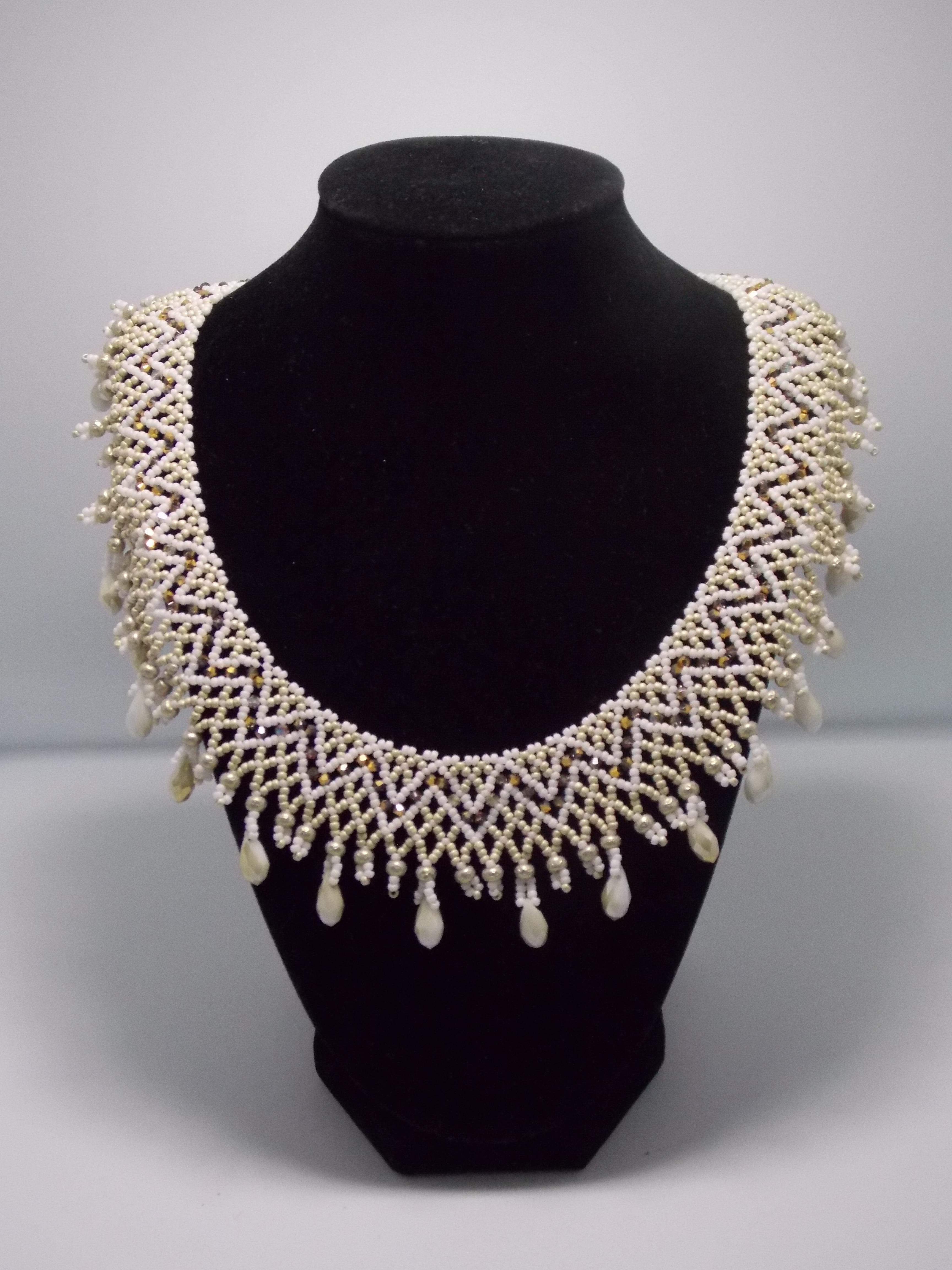 Beaded Necklace by Evelyn Schnee