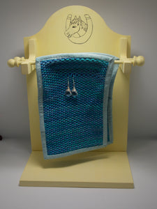 2 Tier Earring Holder - Woven Horseshoe by Vernon & Virginia Sharp