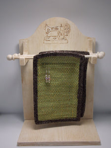 2 Tier Earring Holder - Woven Sewing by Vernon & Virginia Sharp