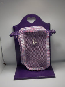 3 Tier Earring Holder - Woven Heart Cutout by Vernon & Virginia Sharp