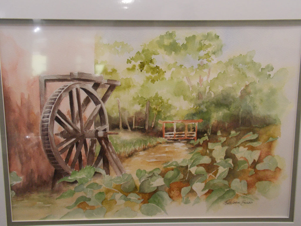 Old Grist Mill by Kathleen Esser