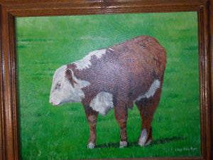 Herford Calf by Lloyd Alvis Agee