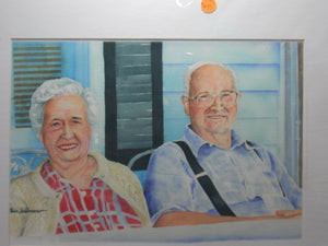 """Older Couple"" by Bill Brown"